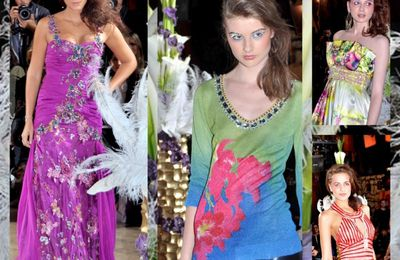 DEFILE CHRISTOPHE GUILLARME-Summer of love-