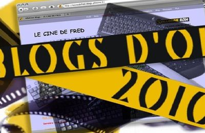 Blogs d'Or 2010 : les résultats