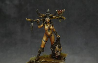 Female Warrior - 30mm