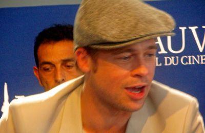 """Brad Pitt à Deauville pour """"The Assassination of Jesse James..."""" : le top du crescendo des stars est atteint!"""