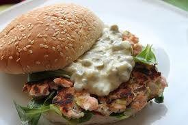 Como hacer hamburguesas de pescado