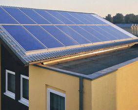 Installazione dell'impianto fotovoltaico in un condominio