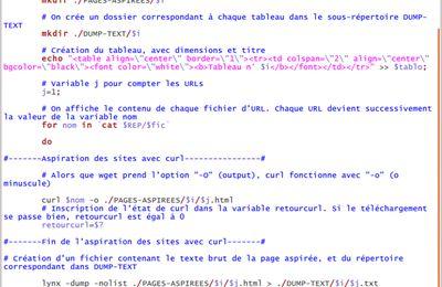 """Extraction du texte avec Lynx et difficultés avec la détection des """"Bad Request"""""""