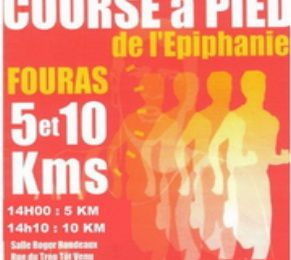 Run'heure partenaire sur la course de l'Epiphanie à Fouras du 5 Janvier 2014