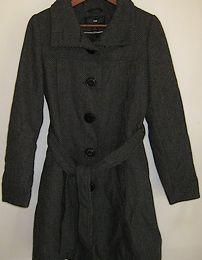Manteau Noir/Gris (30 euros)