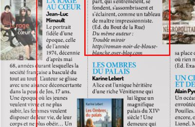 "article presse "" La 27eure"" - incontournables auteurs normands"
