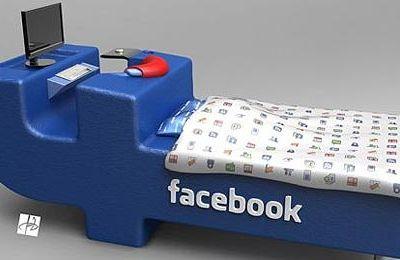 Mit dem Facebook Bett stets online