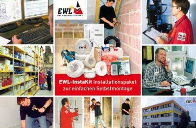 Elektromaterial für den günstigen Hausbau EWL Instakit