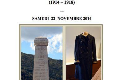 Le Vaucluse et la Grande Guerre : 22 novembre Avignon 9-12h