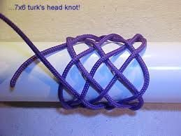 GRANT'S HEEL KNOT (one strand)