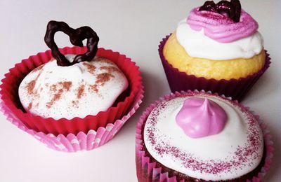 Recettes de cupcakes pour la Saint-Valentin