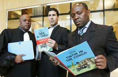 «Tintin au Congo» sauvé de la censure