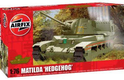 """Airfix : Matilda """"Hedgehog"""" 1/76ème"""