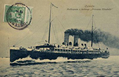 La malle-poste Ostende/Douvres