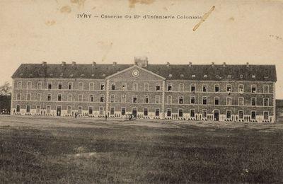 caserne du 21e Régiment d'Infanterie Coloniale (futur 21e RIMa)