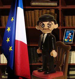 Sarkozy, le playmobil en déroute