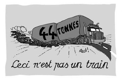 Contre le vote de la loi permettant aux camions à 44 tonnes sur 5 essieux de rouler en France