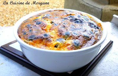Clafoutis Chorizo et olives