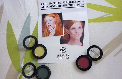 La nouvelle collection Maquillage Automne-Hiver 2013-2014 de Beauty Success