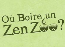 Boire un Zen ZOO (Bubble Tea) à Paris.