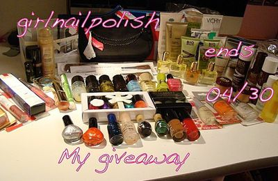 Giveaway chez girlnailpolish