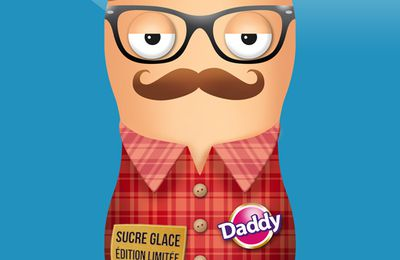 Packaging sucre Daddy - HIPSTER STYLE!