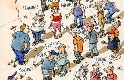 Histoires humoristiques de la « Planète Pétanquère » écrite par Bernard Bonnes