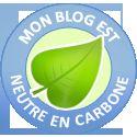 Mon blog est neutre en carbone !
