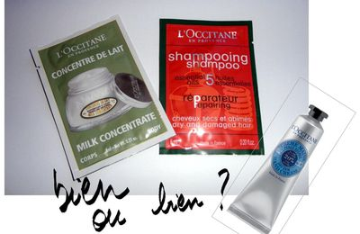 Produits l'Occitane, le crash test