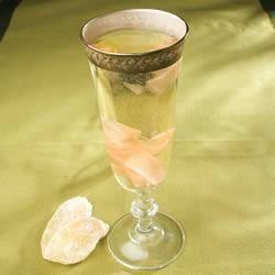cocktail au champagne et au gingembre recette pour diabétique