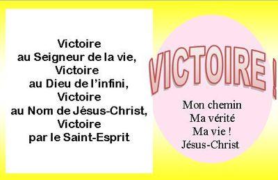 PROMESSE DE VICTOIRE