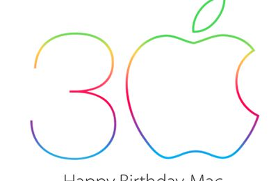 Happy birthday Mac 30 ans déjà