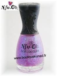 Nail-Art Vernis Claire's + Nfu Oh n°50