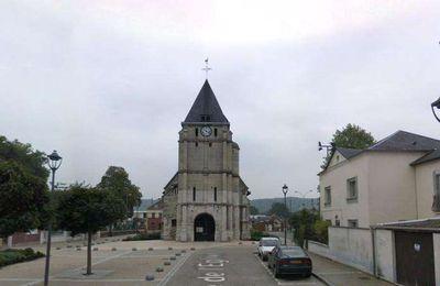 Attentat à Rouen prière pour les prêtres et l'église Chrétienne de France