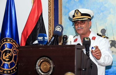 Quid, la Marine Libyenne: