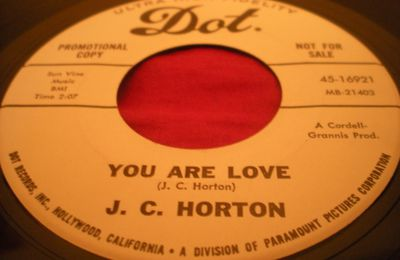 J.C. Horton : The you in every song I sing