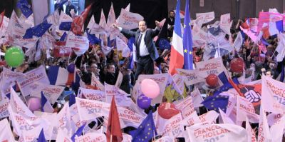Hollande à Bercy le 29 avril