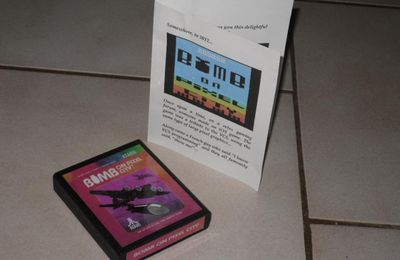 [ATARI 2600] Bomb on Pixel City, les ROMs !
