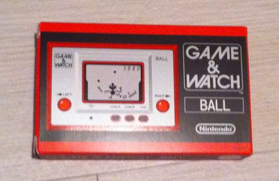 BALL, le premier Game&Watch en réédition !