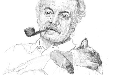 Brassens et son chat