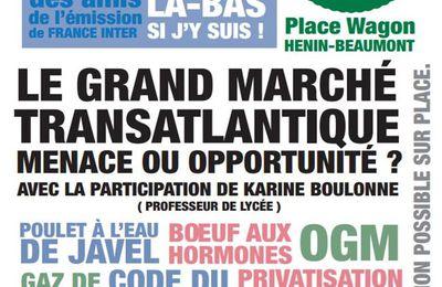 Le grand marché transatlantique au programme du Café repaire à La Belle Anglaise