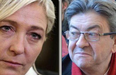 Affaire du faux tract : le procès Mélenchon-Le Pen encore renvoyé