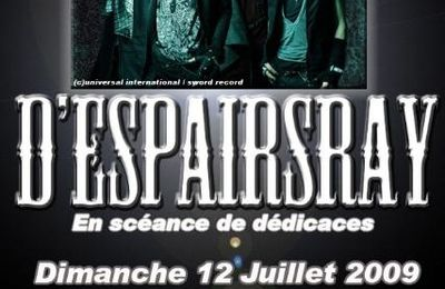 [Concert] D'espairsRay Live Tour 2009 -Psychedelic parade in Europe-