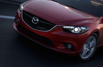La nouvelle Mazda6 pointe le bout de sa calandre
