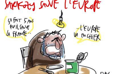 La Grêce nouveau cauchemar de Sarkozy