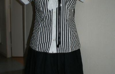 Vente 3: Pack lolita black and white--> VENDUE