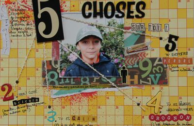Scrap - 5 Choses sur Toi