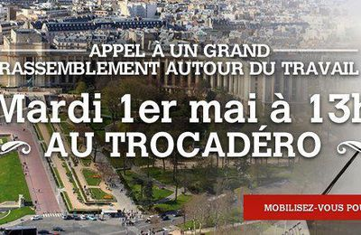Retrouvons-nous tous, mardi à 14 heures Place du Trocadéro, pour soutenir Nicolas Sarkozy !