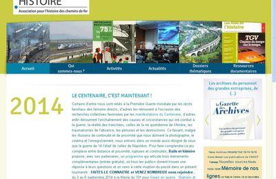 """""""Historia"""" s'intéresse à l'association pour l'histoire des chemins de fer"""