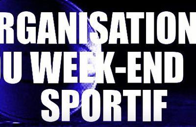 SAISON 12/13 - ORGANISATION DU WEEK-END SPORTIF : DIMANCHE 3 FÉVRIER